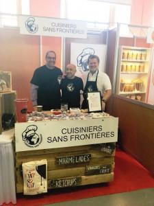 Membres de Cuisiniers sans frontières