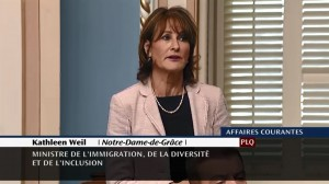 Ministre Kathleen Weil - période de question, 7 juin 2017 -